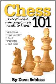 Learn to play chess with Chess 101, a chess training book for beginners and novice players. Endorsed by many top chess teachers and instructors.